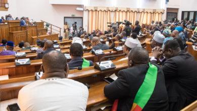 Patrice Talon, le président du Bénin, à l'Assemblée Nationale lors du Message sur l'Etat de la nation le 22 décembre 2017 / Photo : PRÉSIDENCE DU BÉNIN
