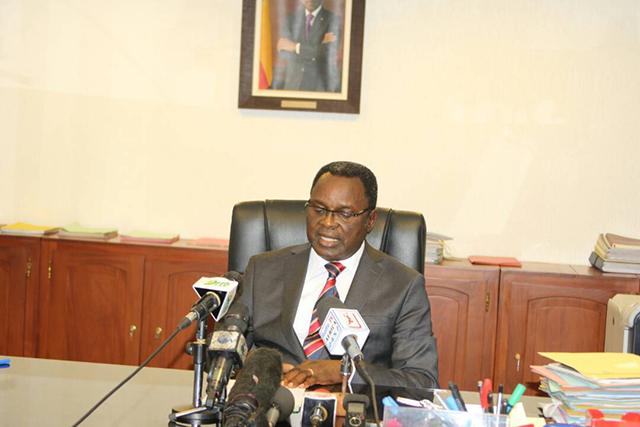 Cyr Koty, ministre des Infrastructures et des Transports / photo : transports.bj